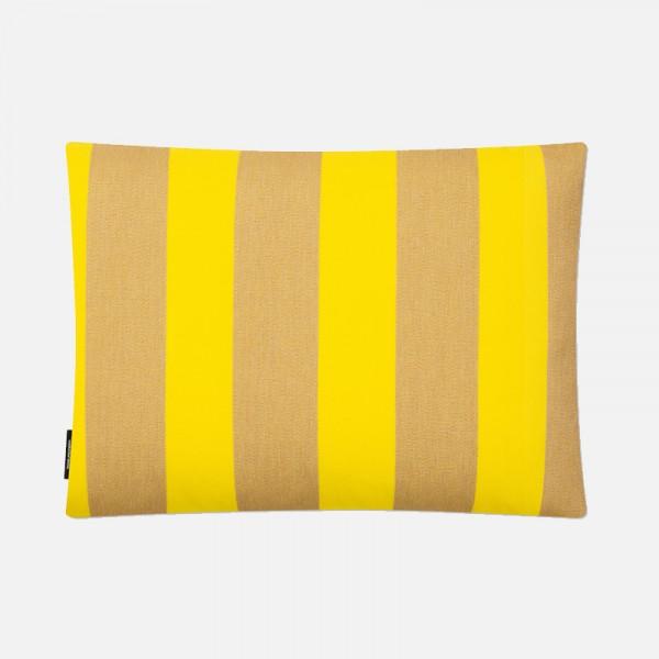 Kissen Reflex beige/gelb