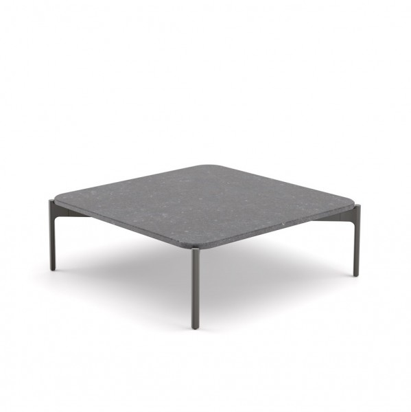 IZON Coffee Table quadratisch Pierre Blue