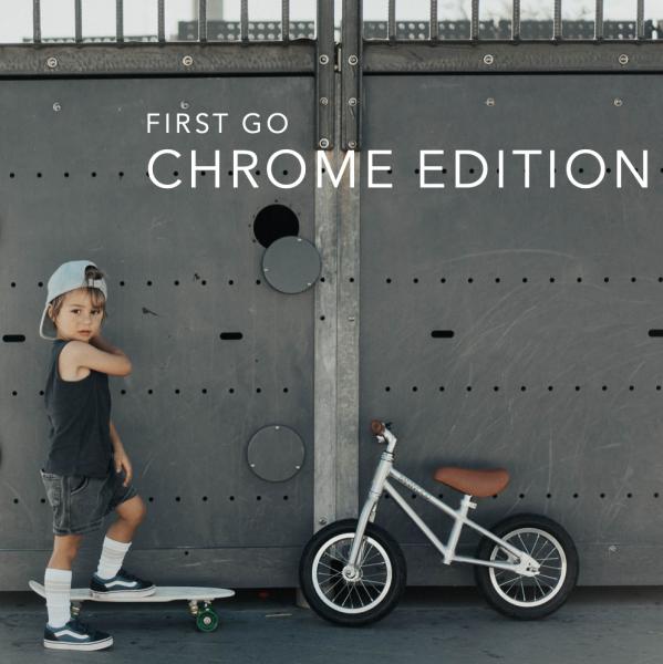 First Go Laufrad Chrome