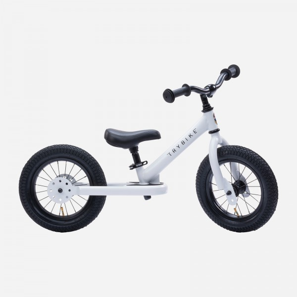 Trybike Laufrad White