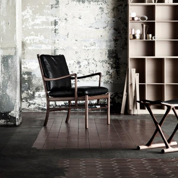 OW149 Colonial Chair Mahagoni