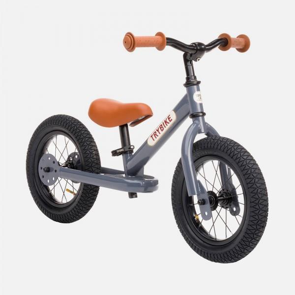 Trybike Laufrad Grey / Brown