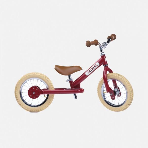Trybike Laufrad Vintage Red
