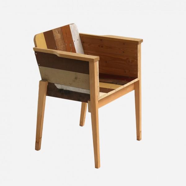 Armlehnstuhl Scrapwood, armchair scrapwood