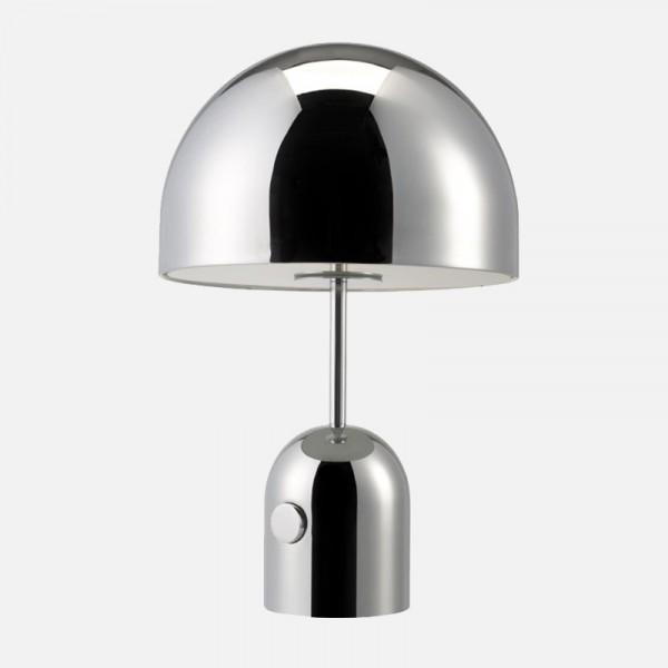 Tischleuchte Bell Silber