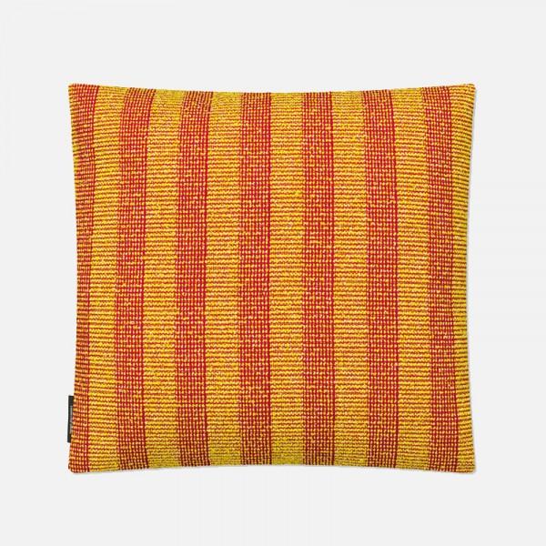 Kissen Pulsar gelb/rot