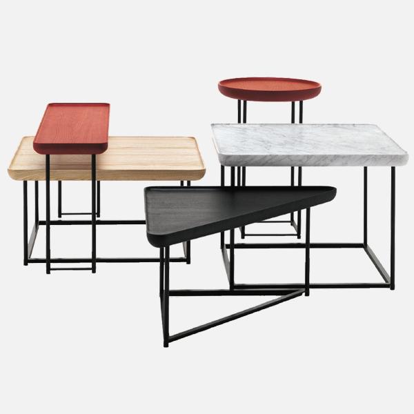 beistelltisch torei dreieckig couch beistelltische. Black Bedroom Furniture Sets. Home Design Ideas