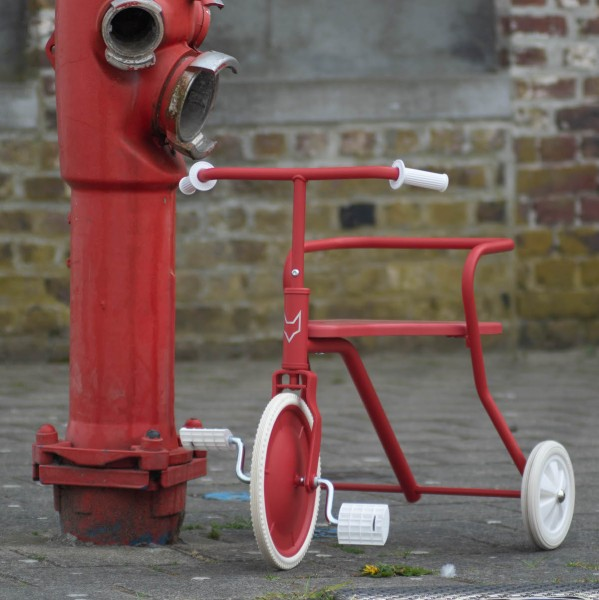 Foxrider Dreirad rot